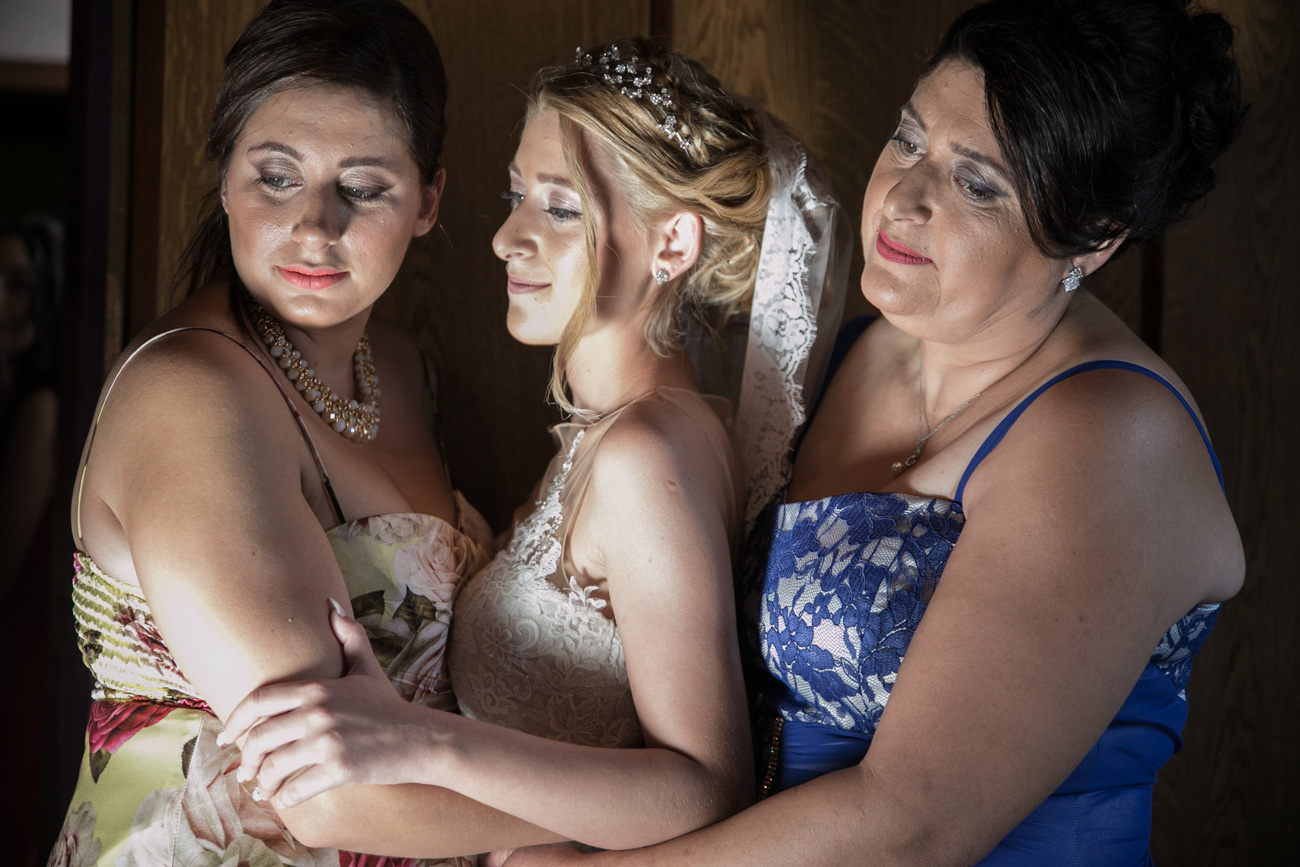 family-and-bride