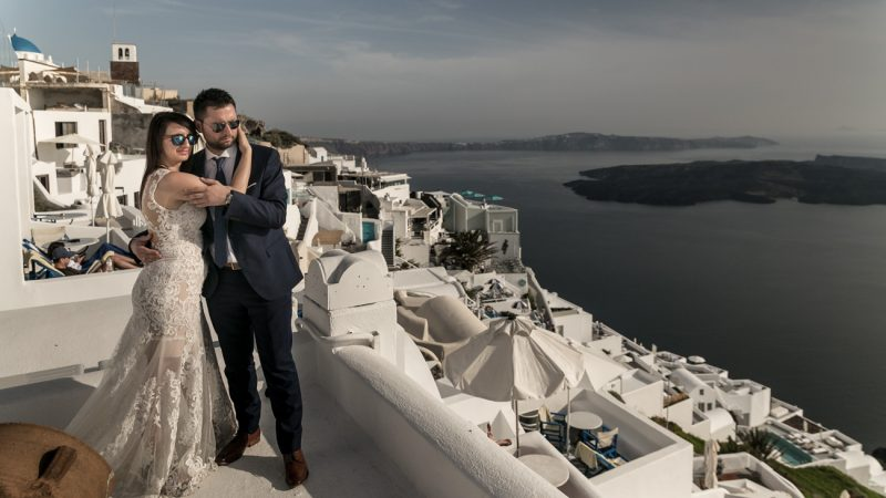 Santorini … the ultimate wedding destination